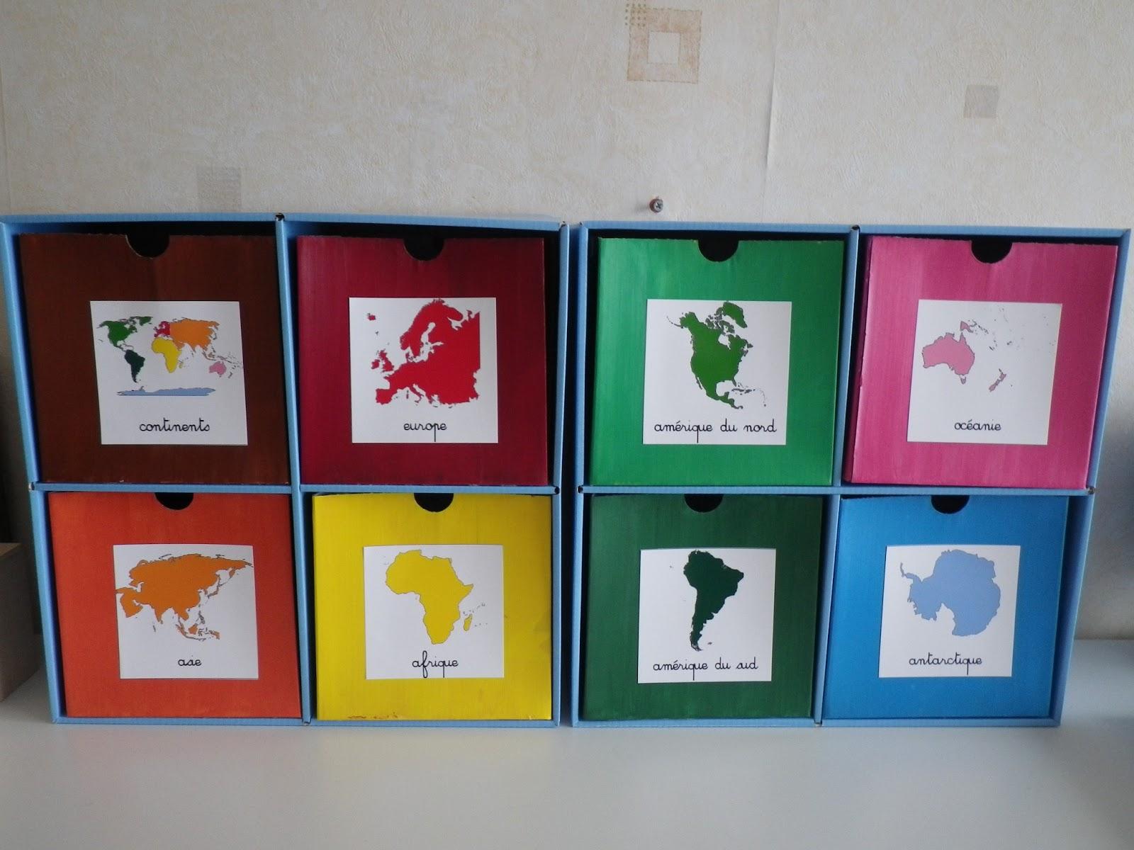 Ateliers De Géographie : Le Monde : Les Continents - La destiné Jeux Géographique