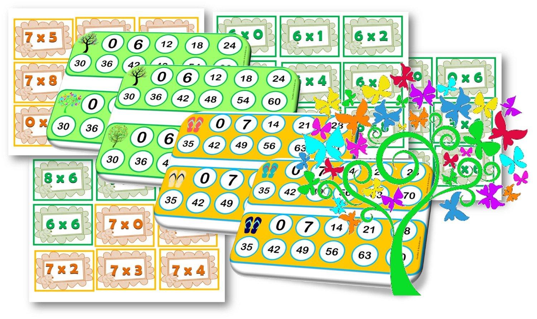 Ateliers / Jeux / Activites Autour De La Multiplication encequiconcerne Tables De Multiplication Jeux À Imprimer