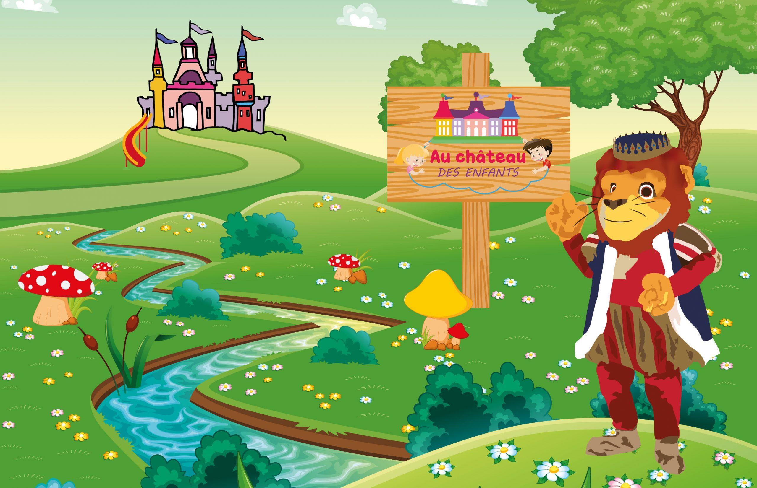 Au Château Des Enfants Complexe De Jeux Pour Enfants De 0 À pour Jeux Pc Enfant