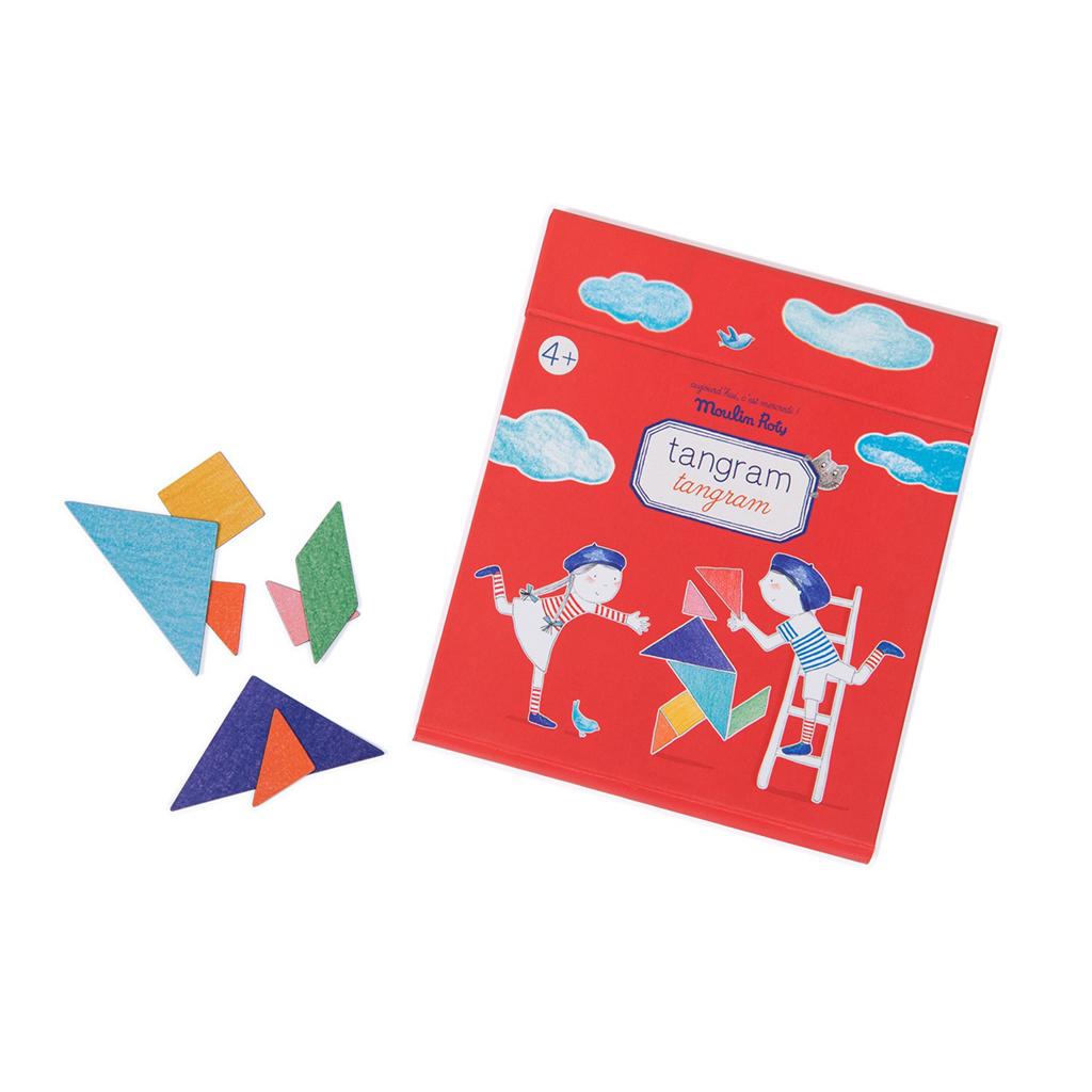 Aujourd'hui C'est Mercredi - Jeu Magnétique - Tangram serapportantà Tangram Enfant