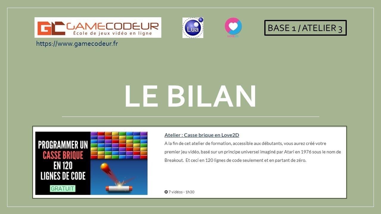 Aujourd'hui, On Code Un Casse-Brique ! avec Jeu De Casse Brique Gratuit