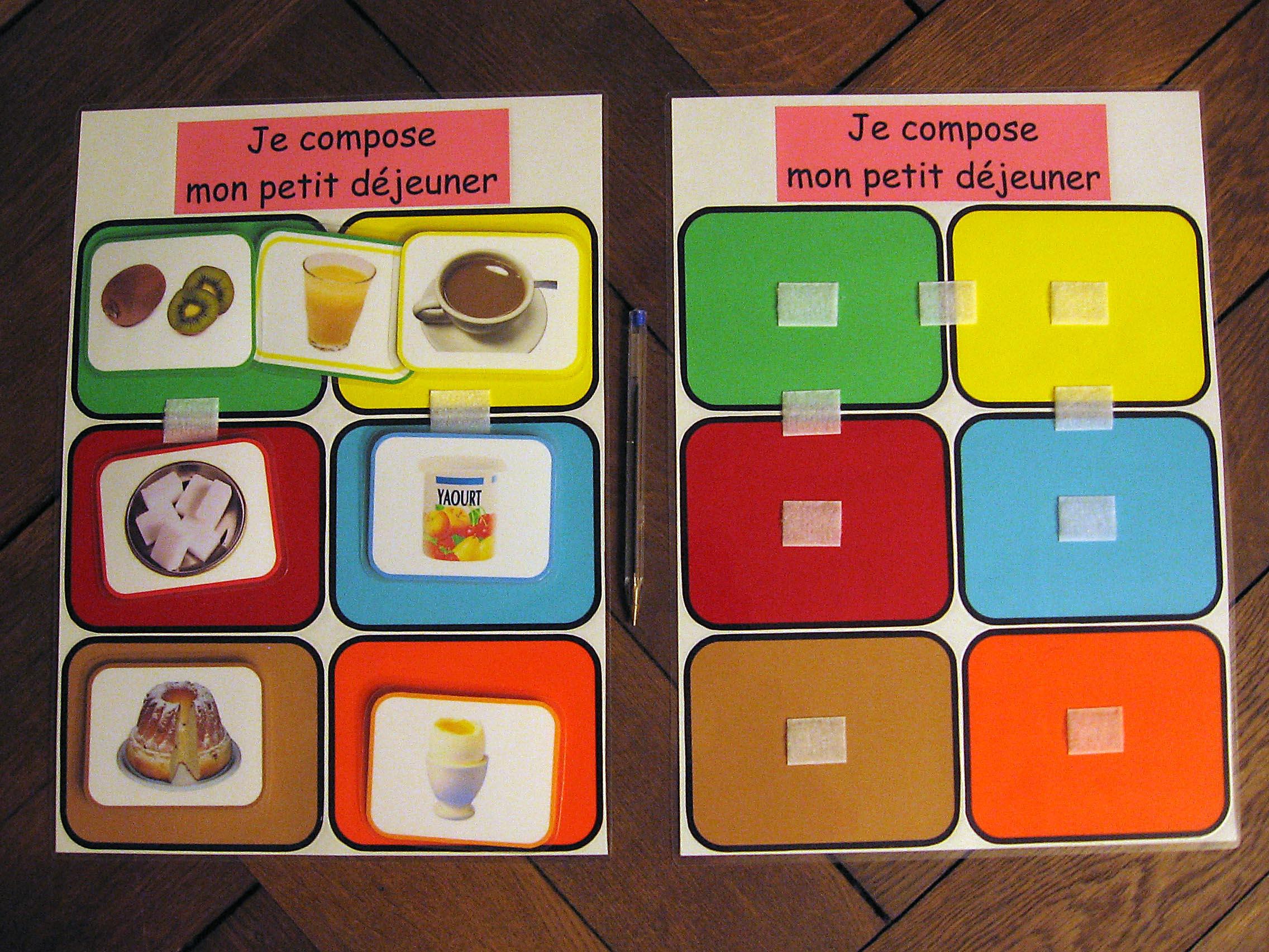Autour Du Petit Déjeuner - Abcd encequiconcerne Jeux Educatif Maternelle Petite Section