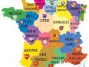 Avant/apres. Découvrez Les 13 Noms Des Nouvelles Régions De avec Carte De France Avec Départements Et Préfectures