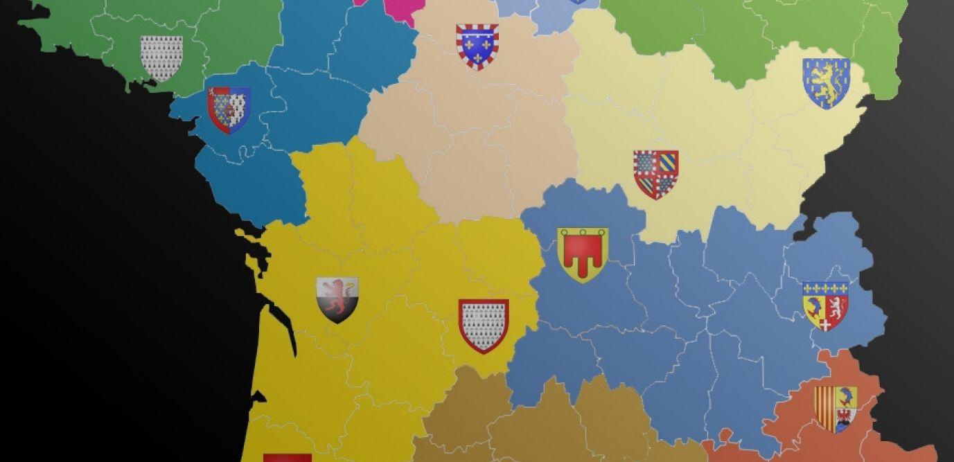 Avant/apres. Découvrez Les 13 Noms Des Nouvelles Régions De intérieur Anciennes Régions