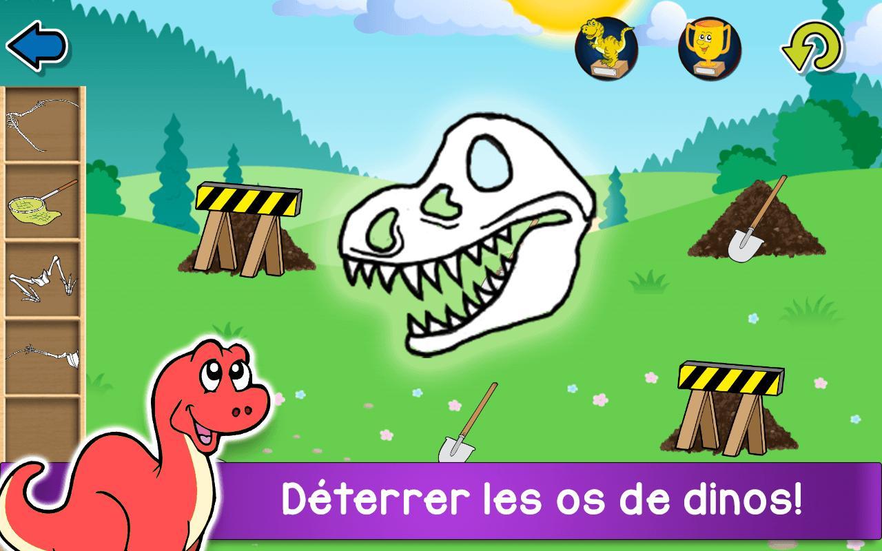 Aventure Dinosaures - Jeux Gratuit Pour Enfants Pour Android concernant Jeux Pour Enfan Gratuit