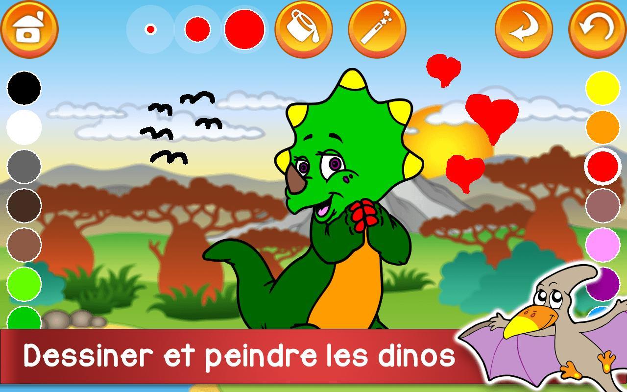 Aventure Dinosaures - Jeux Gratuit Pour Enfants Pour Android destiné Jeux Pour Enfan Gratuit