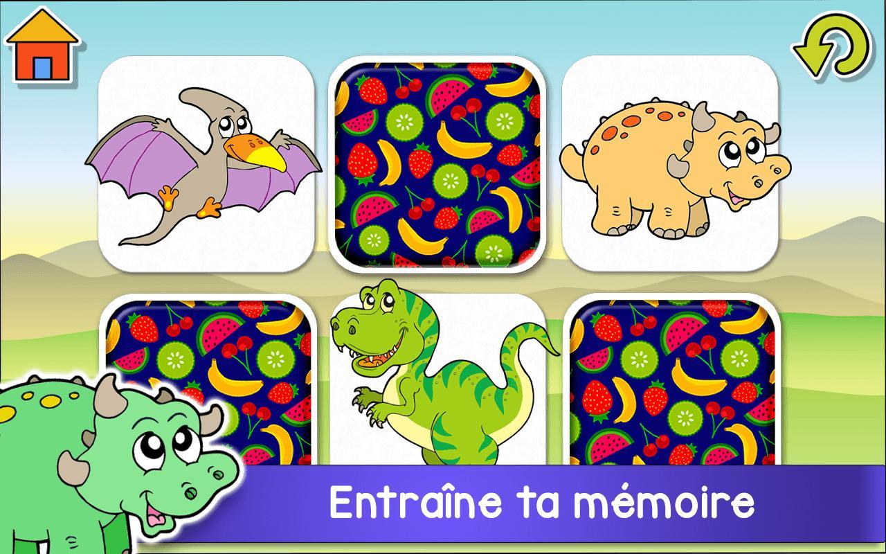 Aventure Dinosaures - Jeux Gratuit Pour Enfants Pour Android pour Jeux D Enfans Gratuit