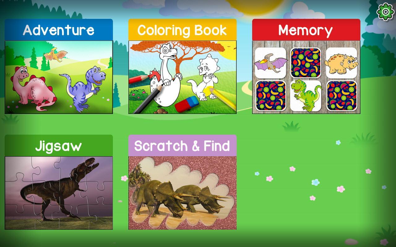 Aventure Dinosaures - Jeux Gratuit Pour Enfants Pour Android pour Memory Enfant Gratuit
