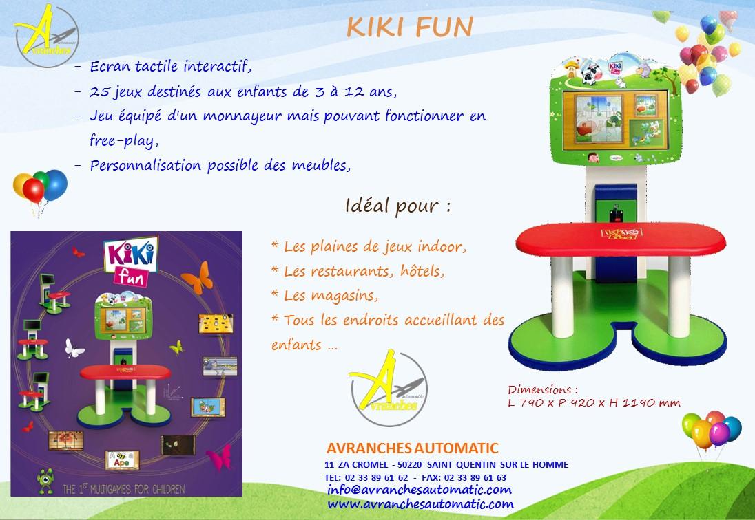 Avranches Automatic - Kiki Fun, Un Jeu Tactile Pour Les Enfants à Jeu Interactif 3 Ans