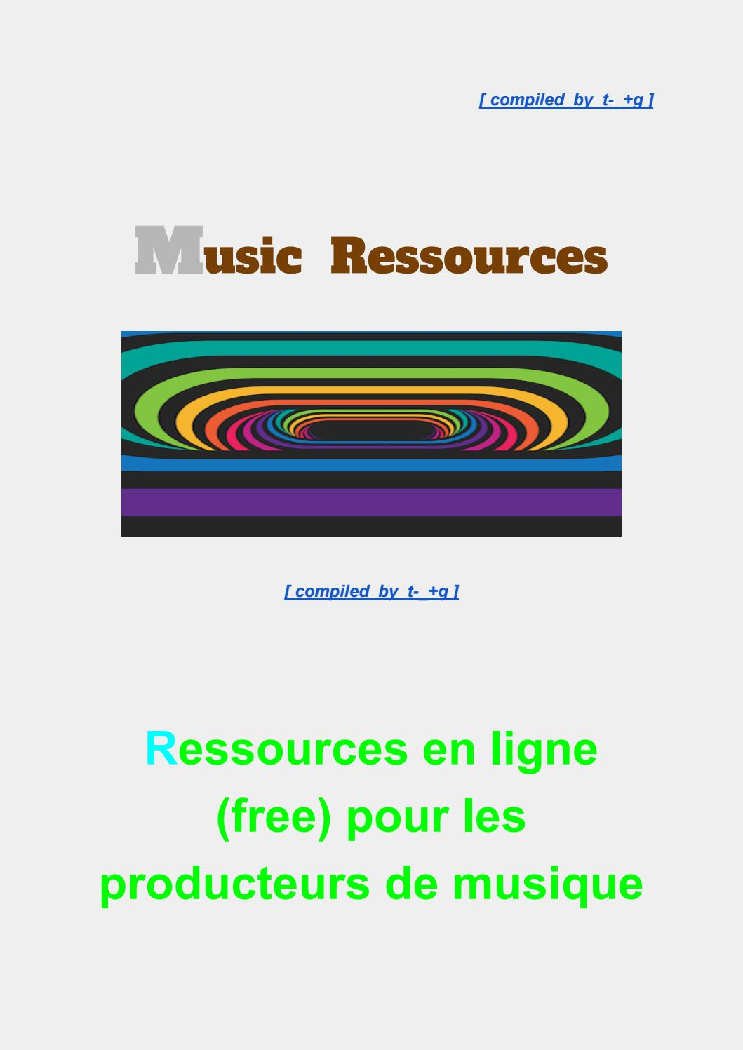Awesome Powerfull Music Ressource's By Samplingunit - Issuu pour Puzzle 5 Ans En Ligne