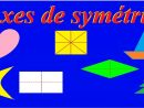 Axe De Symétrie Axiale Et Centrale : Bases Maths Ce2 Cm1 Cm2 6Ème 5Ème avec Symétrie Cm1 Évaluation