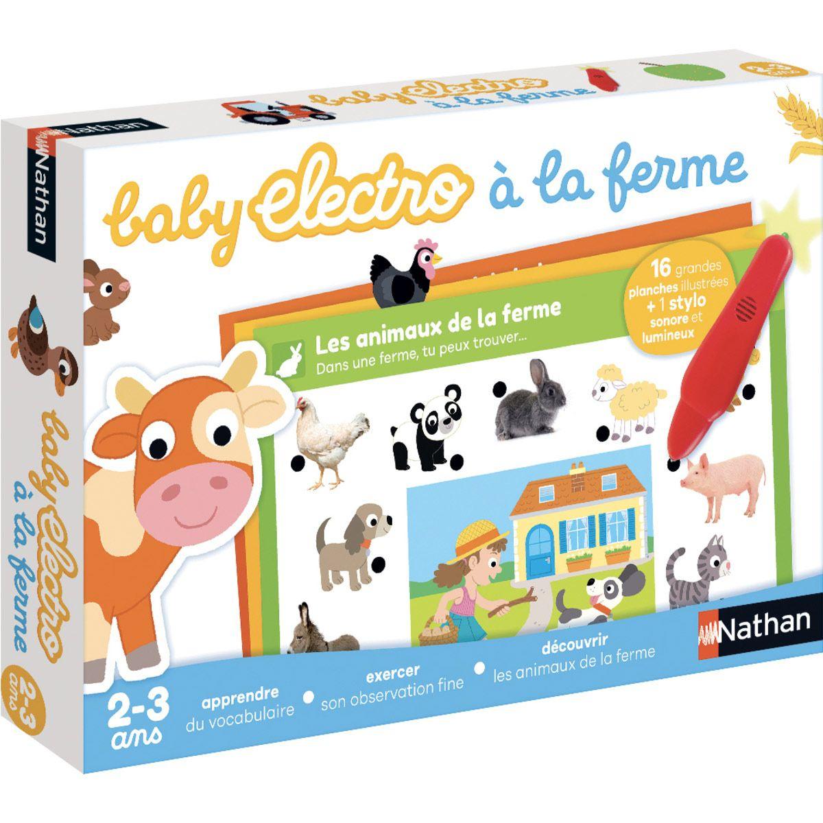 Baby Electro - Animaux À La Ferme - Jeux De Société Et encequiconcerne Jeux Les Animaux De La Ferme