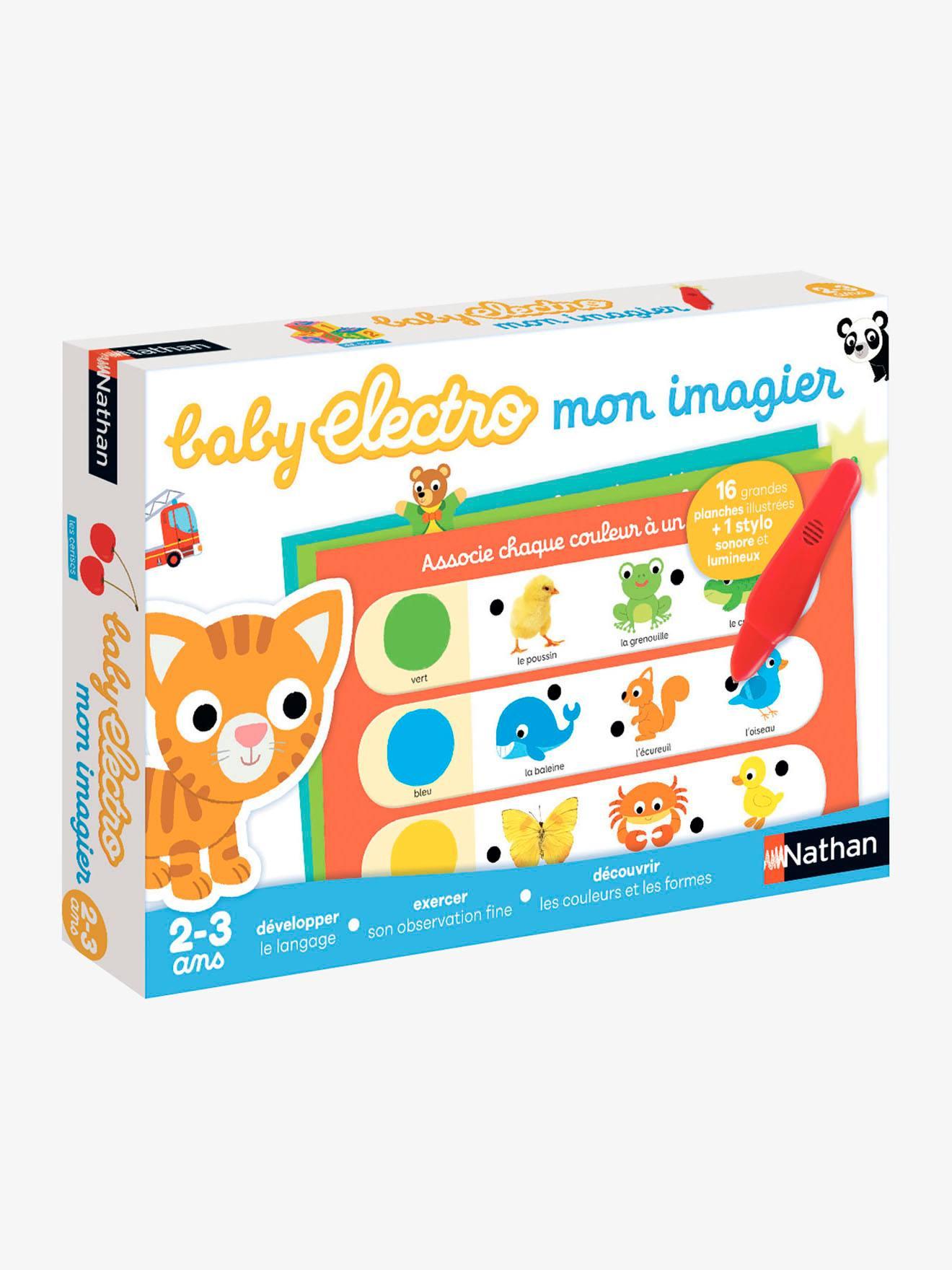 Baby Electro Premier Imagier Nathan Multicolore - Nathan serapportantà Imagier Bébé En Ligne