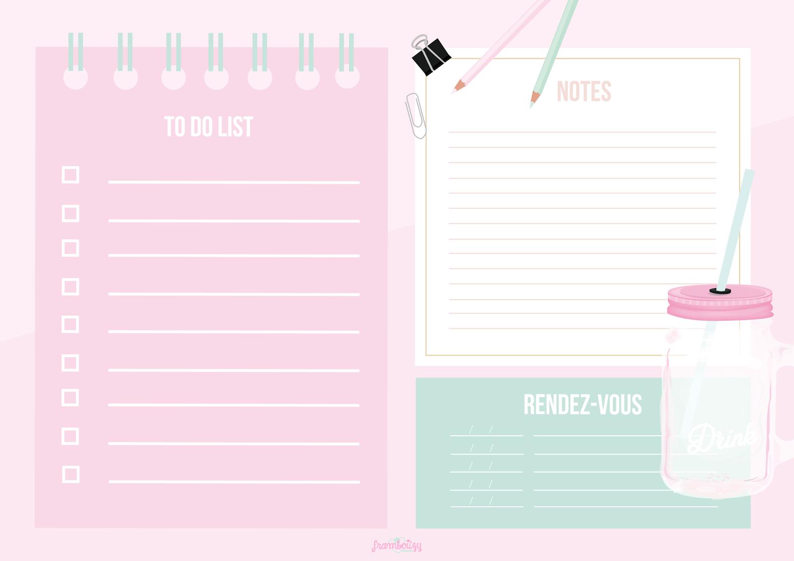 Back To School #01 - Ton Kit Planning À Télécharger tout Journal De Vacances A Imprimer