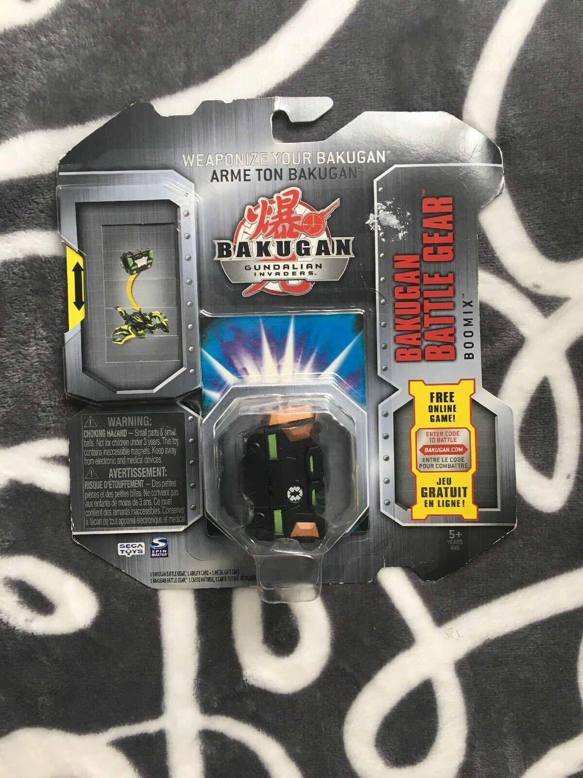 Bakugan Gundalian Invaders Battle Gear Copper Boomix 2009 avec Jeu Memory En Ligne