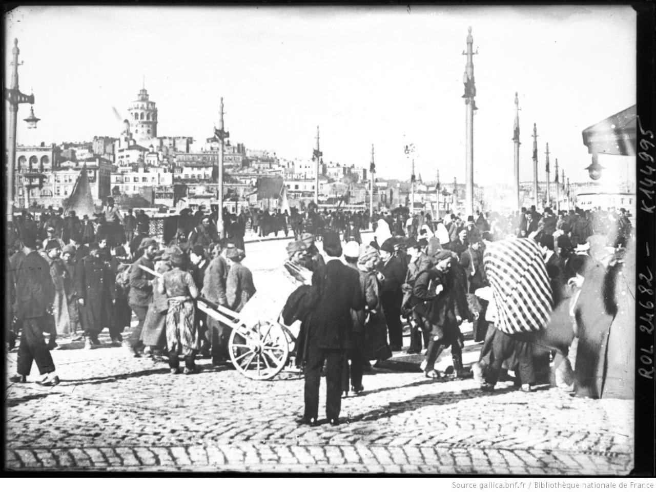 Balkan Göçmenler Eminönü'nde / 1912 Bibliothèque Nationale tout Liste De Departement De France