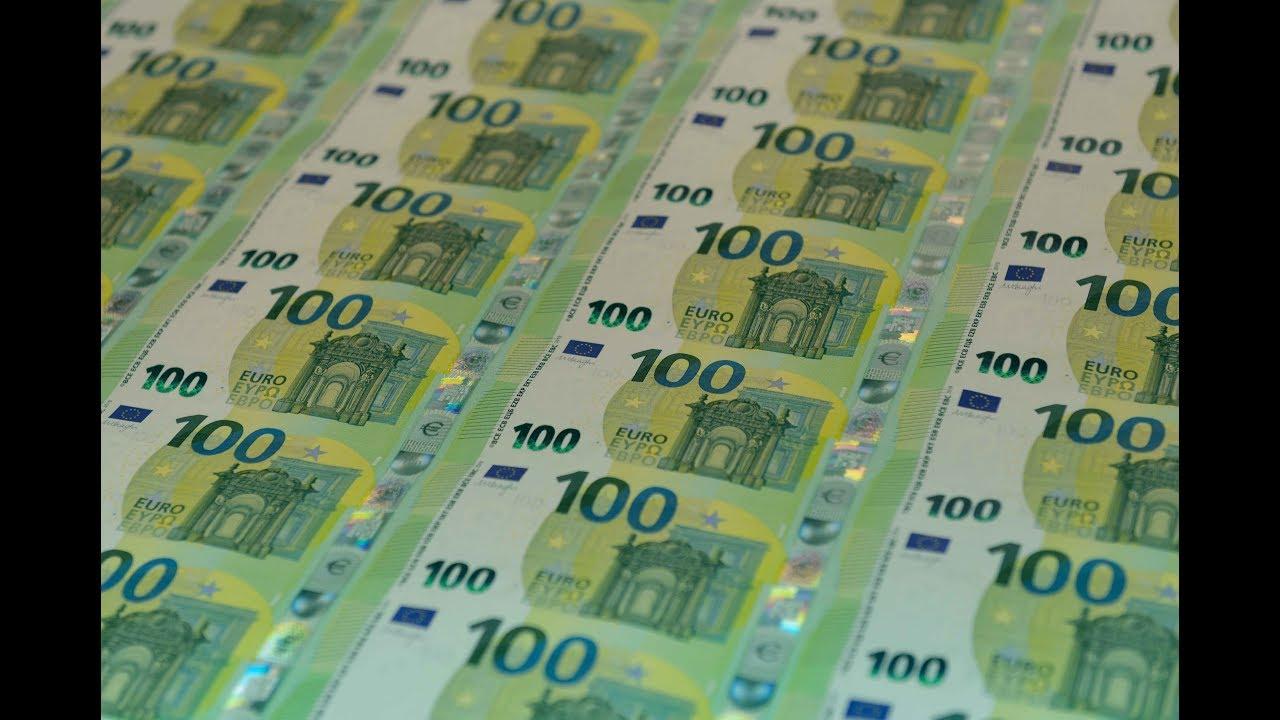Banque Centrale Du Luxembourg - Le Billet De 100 Euros concernant Billet De 100 Euros À Imprimer