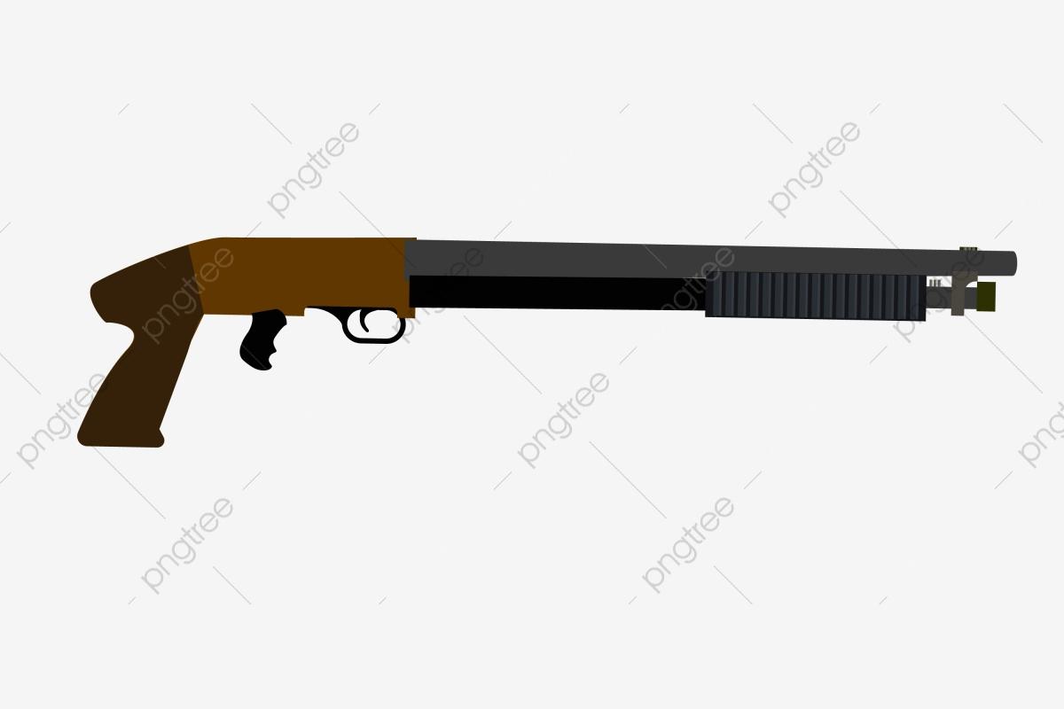Baril Long Fesses Brunes Illustration De Dessin Animé intérieur Comment Dessiner Un Fusil