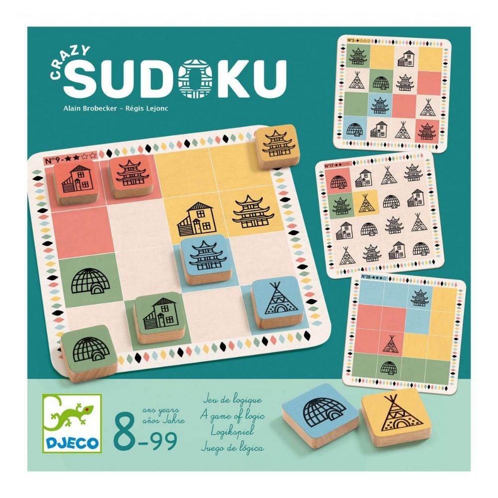 Based On The Principles Of Sudoku, Place The 16 Wooden destiné Jeu Le Sudoku