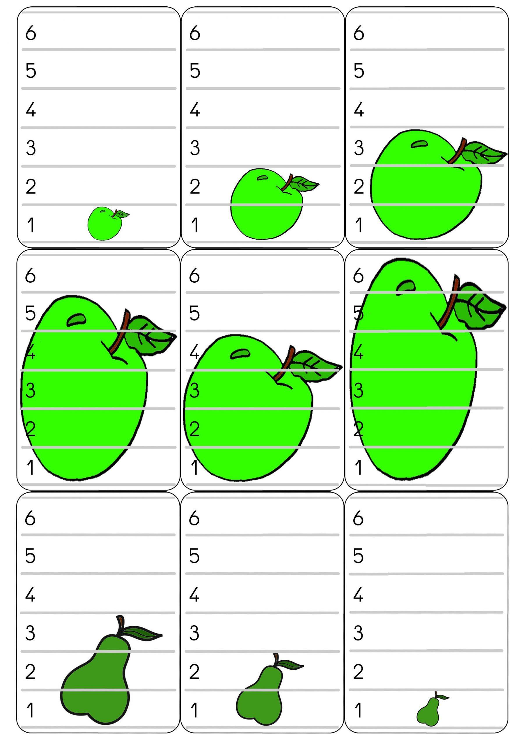 Bataille De Fruits | La Pomme En Maternelle, Jeux En Famille dedans Jeux Pedagogique Maternelle