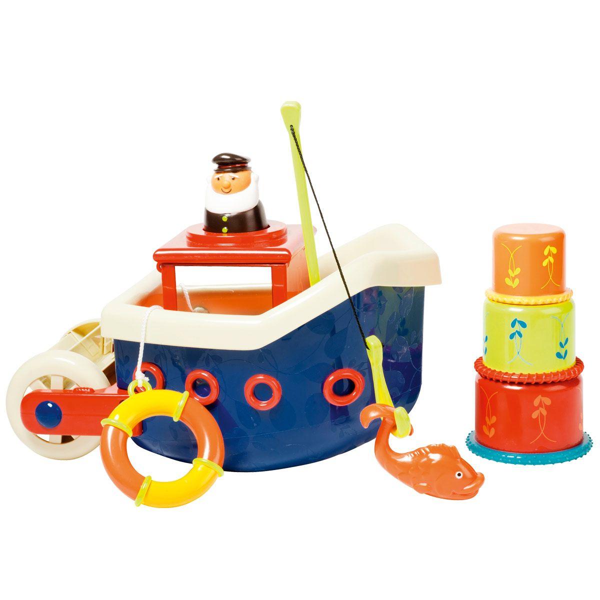 Bateau De Pêche De Bain Branford | Jouet De Bain, Bateaux De concernant Jeux Pour Les Bébé De 1 Ans