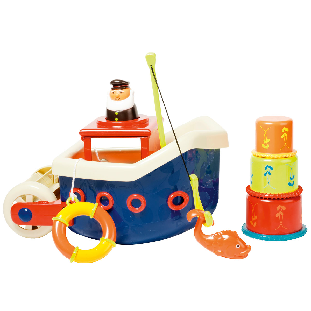 Bateau De Pêche De Bain intérieur Jeux Pour Enfant De Deux Ans