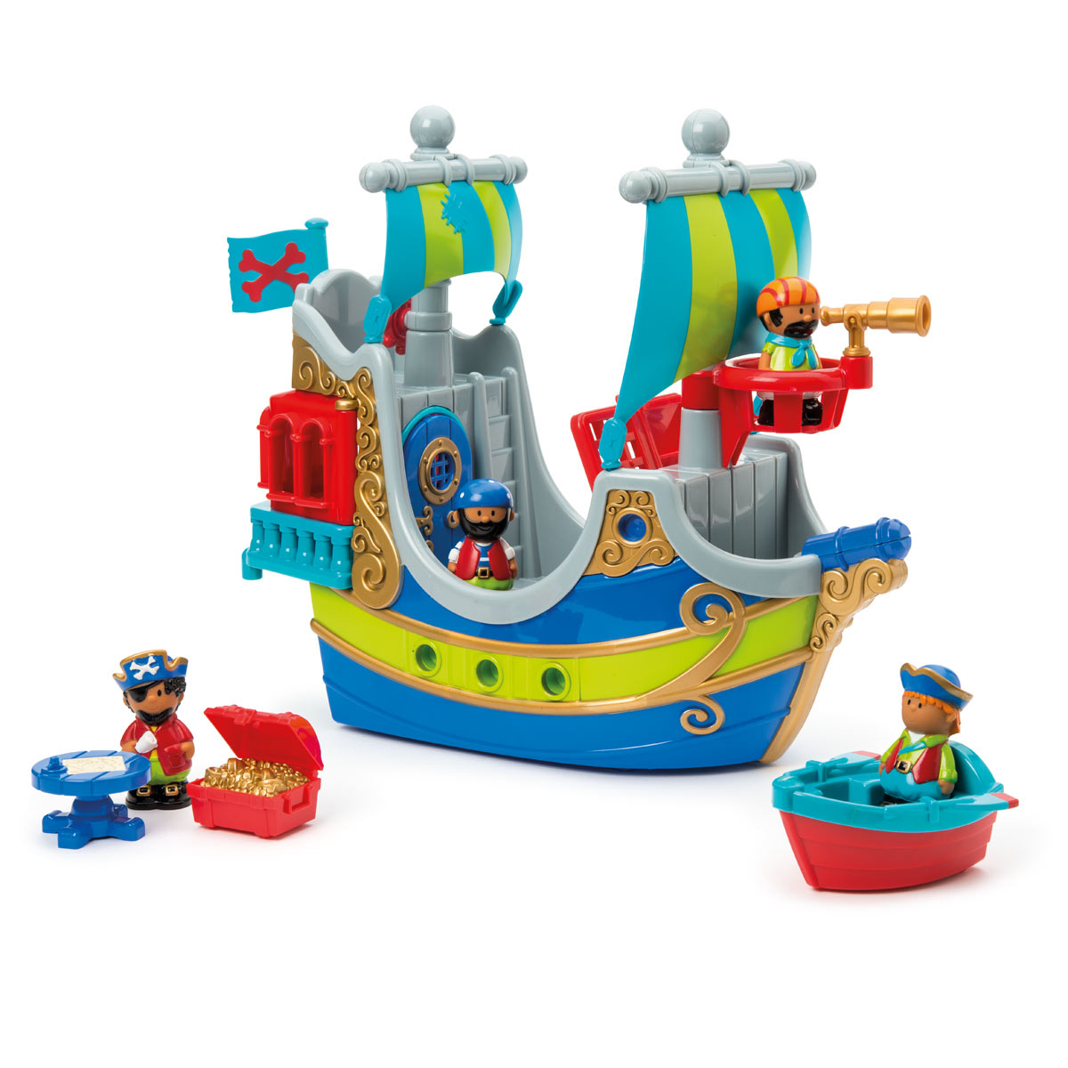 Bateau Pirate Happyland serapportantà Jouet Pour Fille 4 5 Ans
