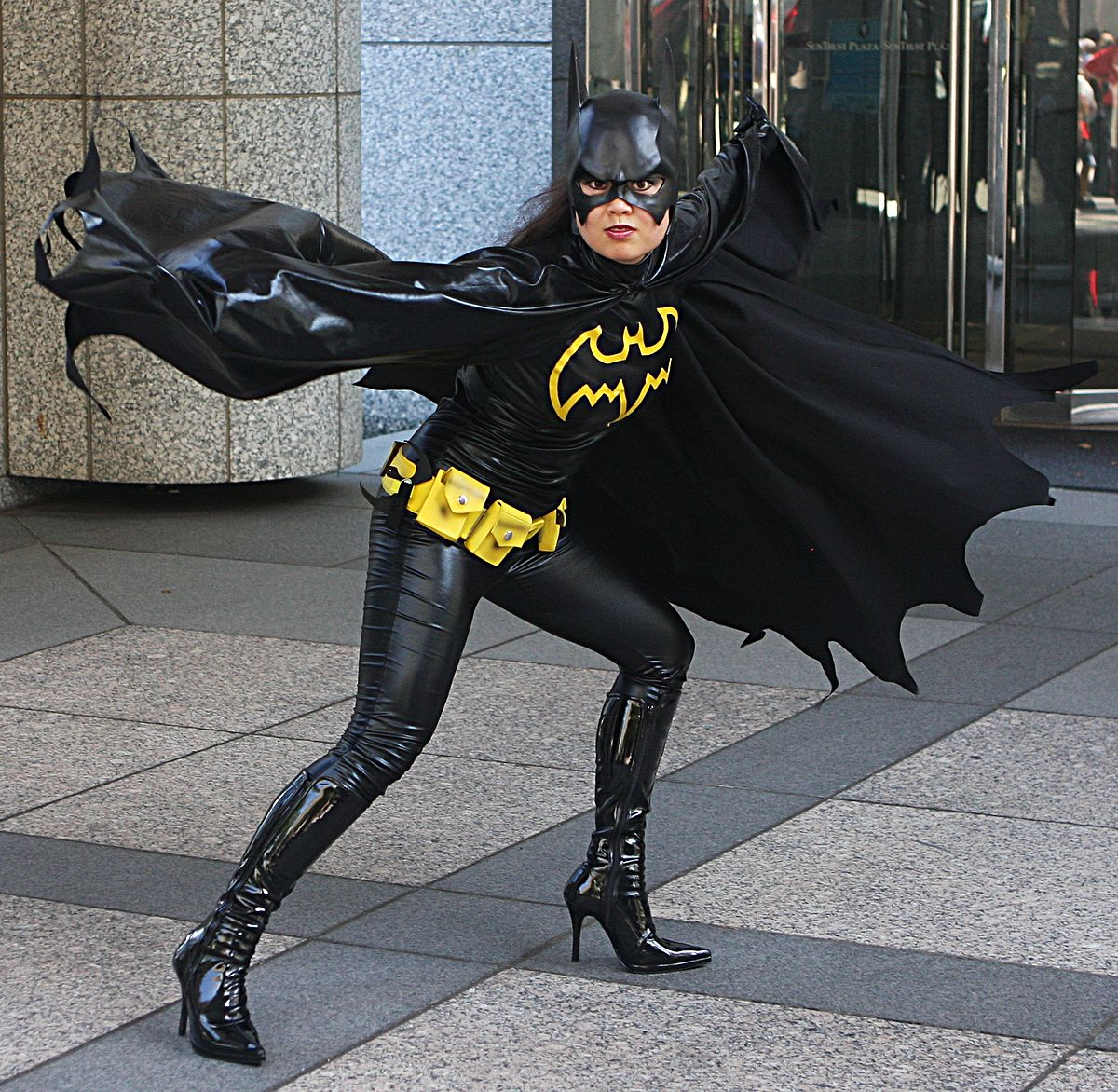 Batgirl — Wikipédia dedans Masque De Catwoman A Imprimer