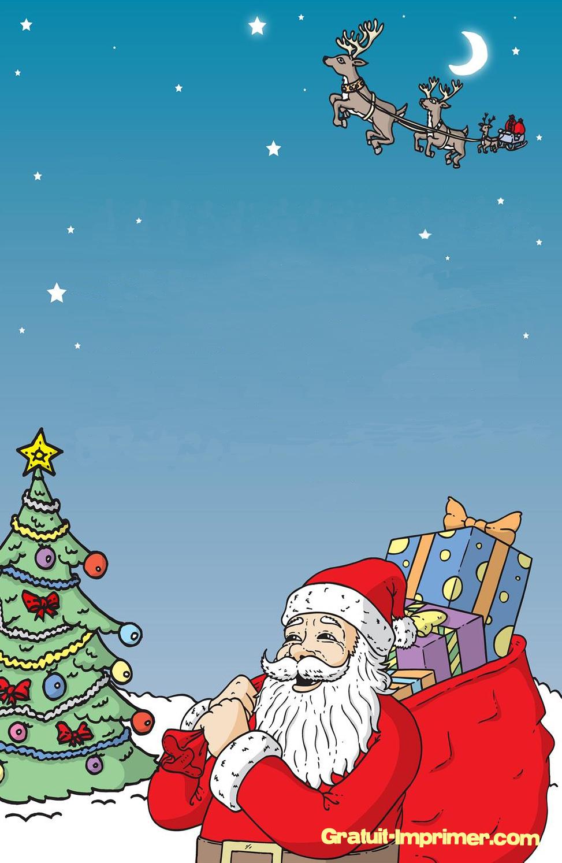 Beau Papier À Lettre Noel Gratuit avec Papier Lettre De Noel
