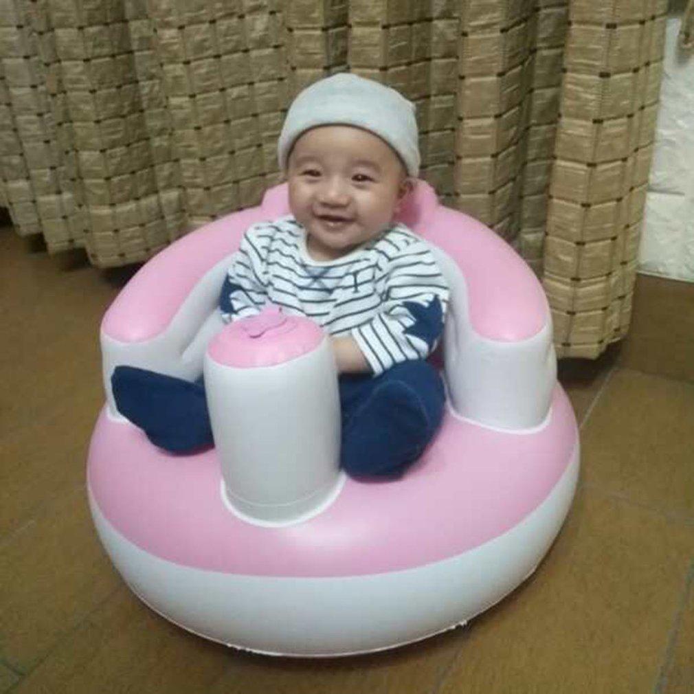 Bébé Siège Gonflable Jouet Souple Infant Apprendre À S'asseoir Chaise  Garder Assis Chaise Posture Pour 0-6 Mois Bébé Baignade Natation tout Jeux Bébé 6 Mois En Ligne