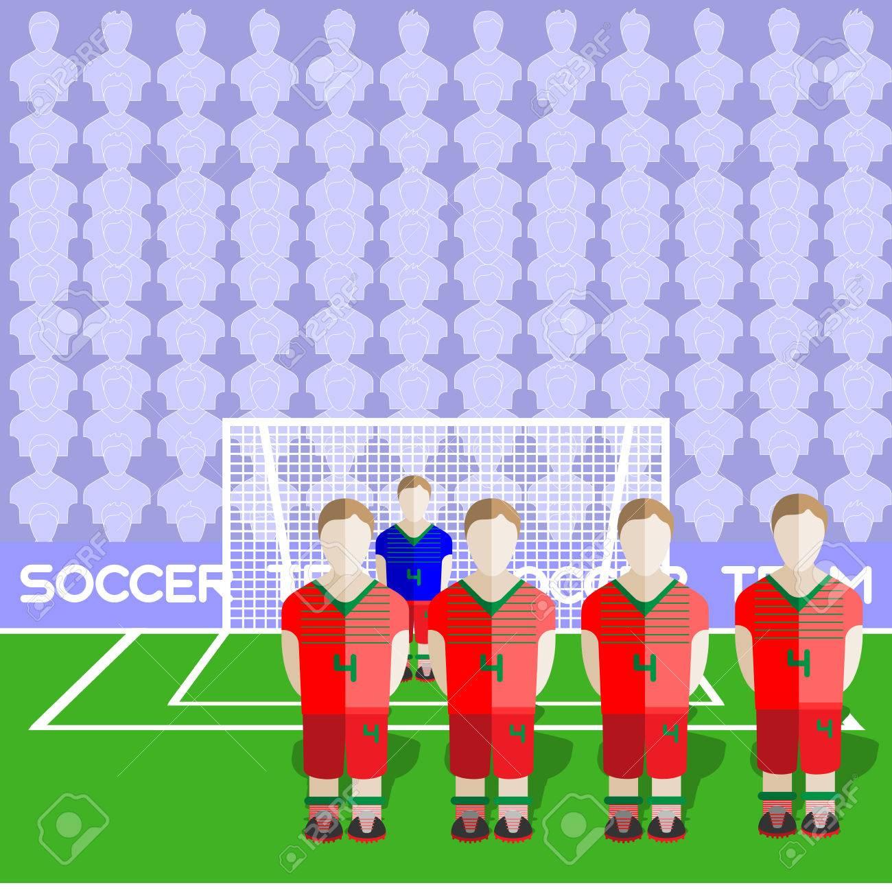 Belarus Football Club Soccer Players Silhouettes. Jeux Rmatiques Équipe  De Football Joueurs Big Set. Graphique Sportif. Les Équipes De intérieur Jeux De Gardien