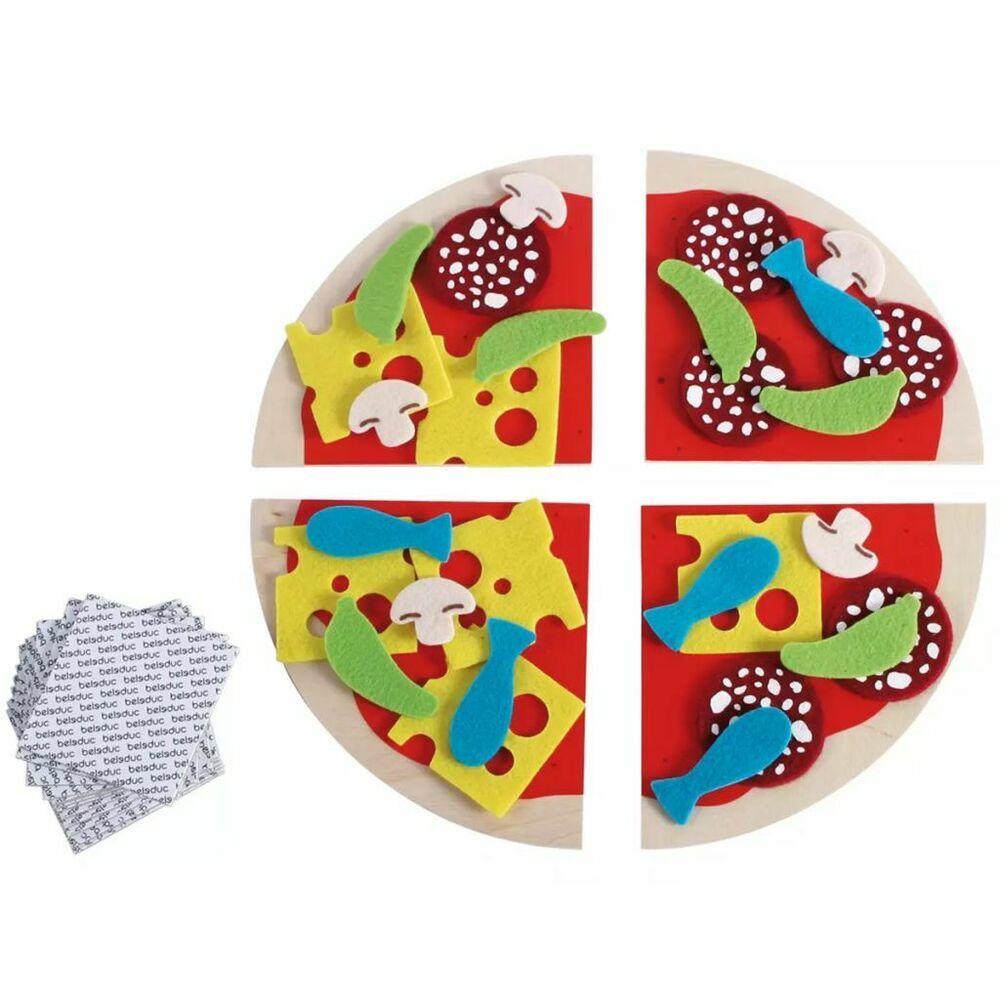 Beleduc Jeu Pizza Fiesta Bois Multicolore Jouet Educatif concernant Jeux Enfant Educatif