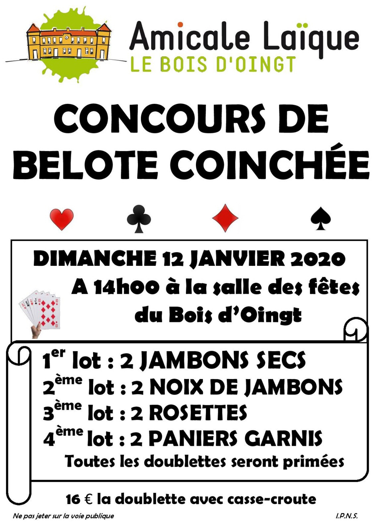 Belote Coinchee : Jeu De Cartes Coinche A Val D Oingt dedans Jeux De Secs