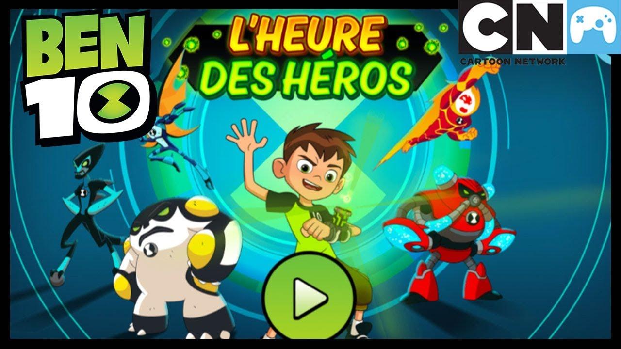 Ben 10 Jeux - L'heure Des Héros | Ben 10 Français | Cartoon Network pour Jeux Gratuit Puissance 4