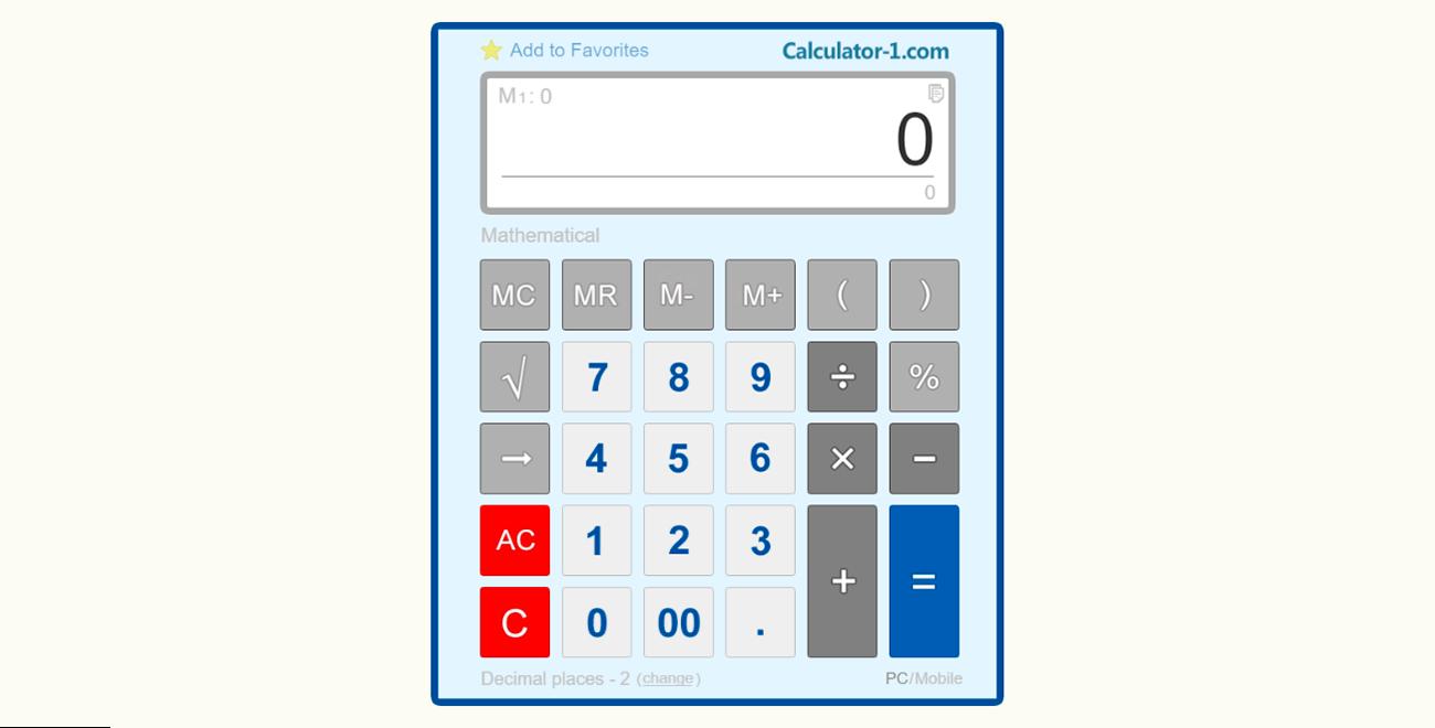 Best Calculatrice En Ligne Gratuit - Calculator-1 serapportantà Puissance 4 En Ligne Gratuit