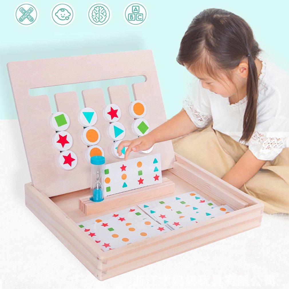 Best Deal #1C5B2 - Jouets Éducatifs Pour Enfants En Bois concernant Jeu Logique Enfant
