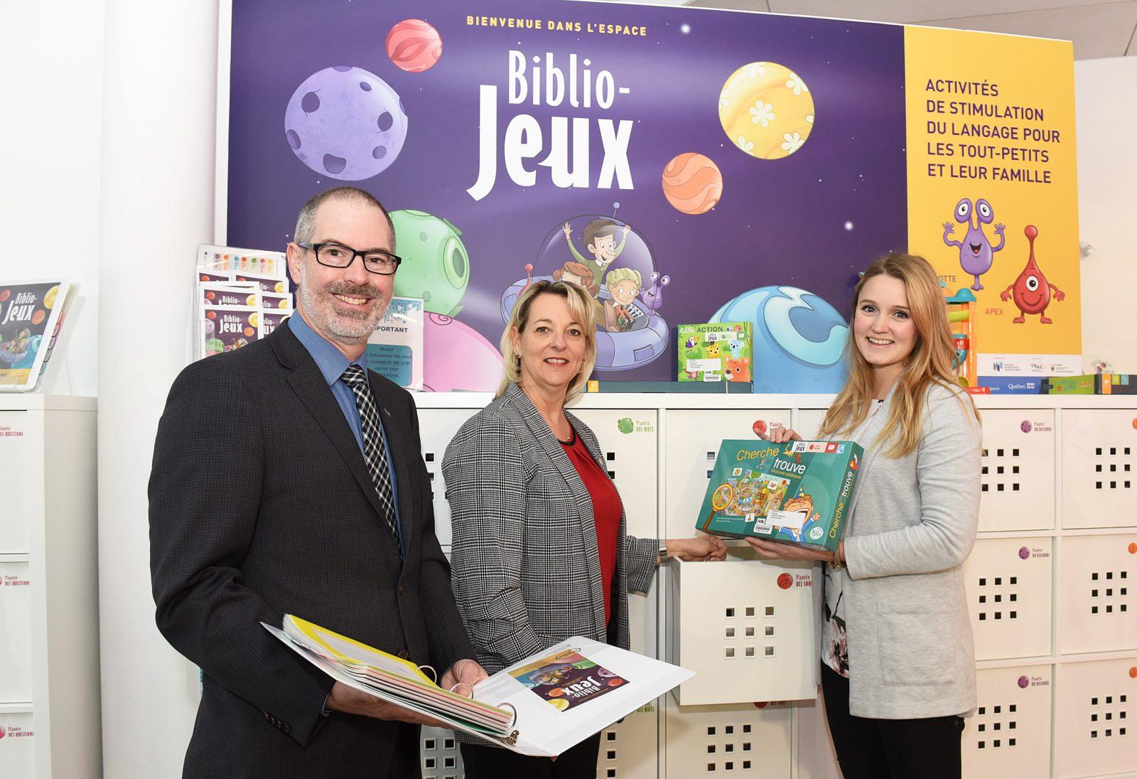 Biblio-Jeux Dans Deux Bibliothèques De Longueuil: Des Jeux tout Jeux Pour Tout Petit