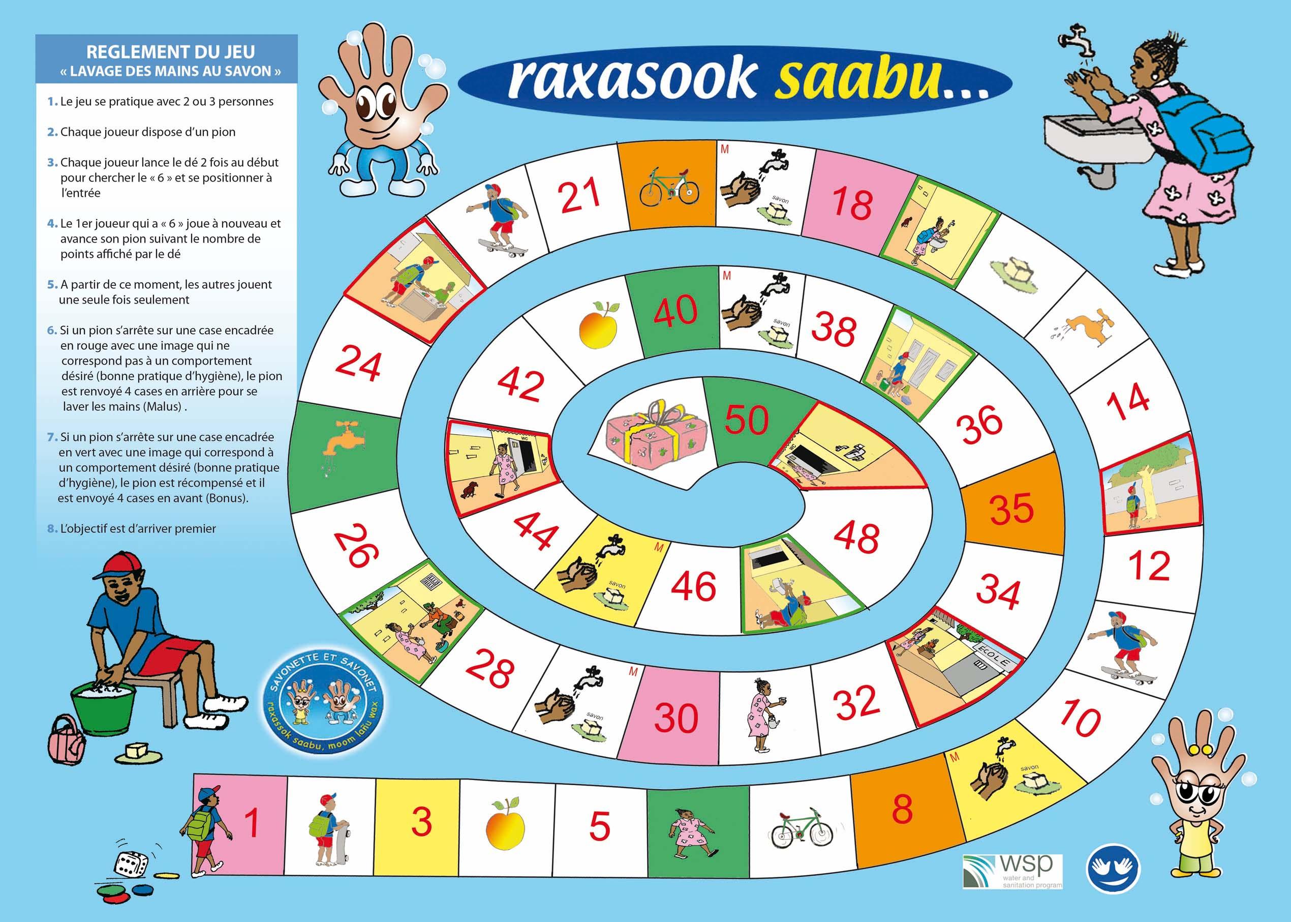 Biblio:jeu De L'oie: Raxasook Saabu à Jeux Avec Des Nombres