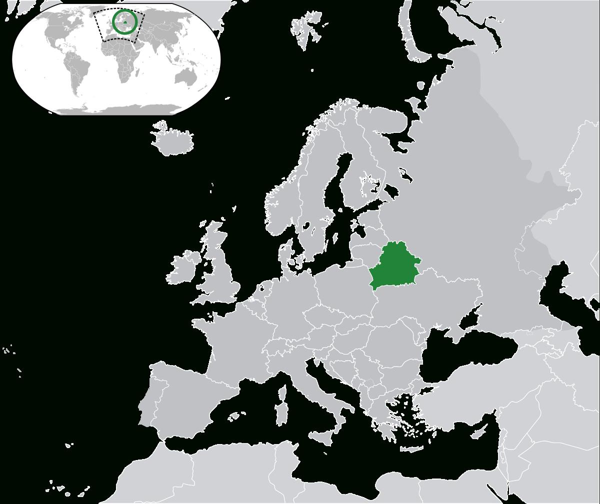 Biélorussie — Wikipédia serapportantà Carte Capitale Europe