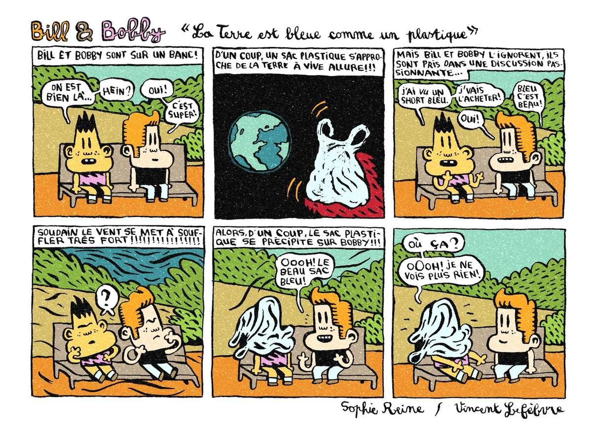 """Bill Et Bobby """"la Terre Est Bleue Comme Un Plastique"""" Avec avec Jeux 3 À La Suite"""