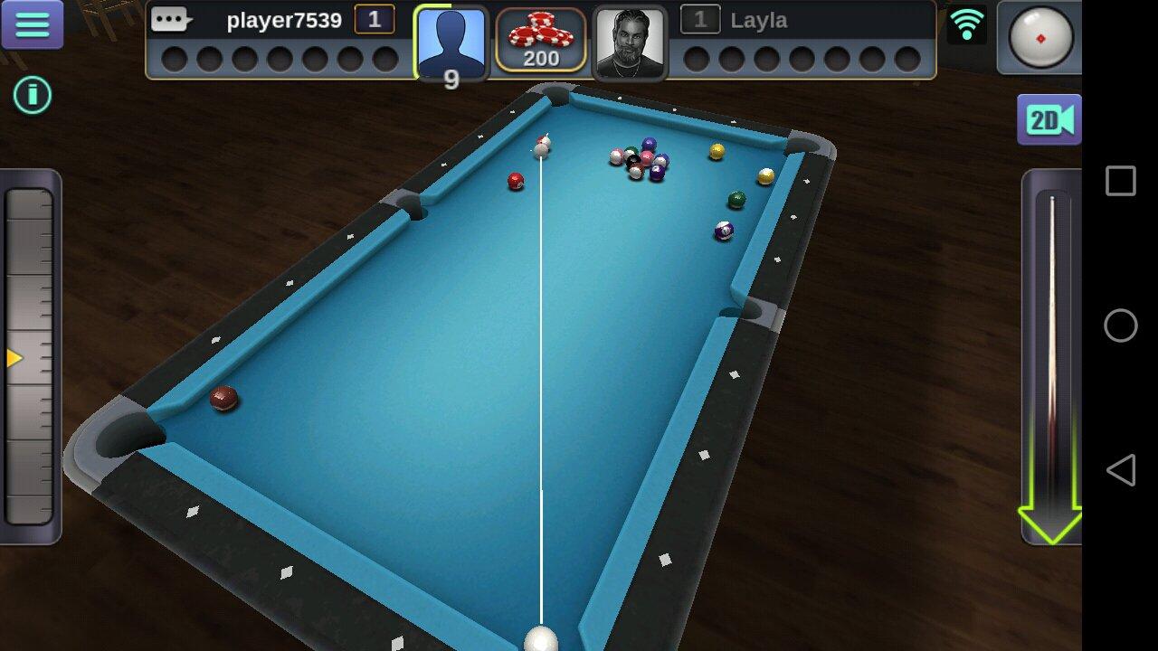 Billard 3D 2.2.2.3 - Télécharger Pour Android Apk Gratuitement intérieur Jeux Gratuit Billard