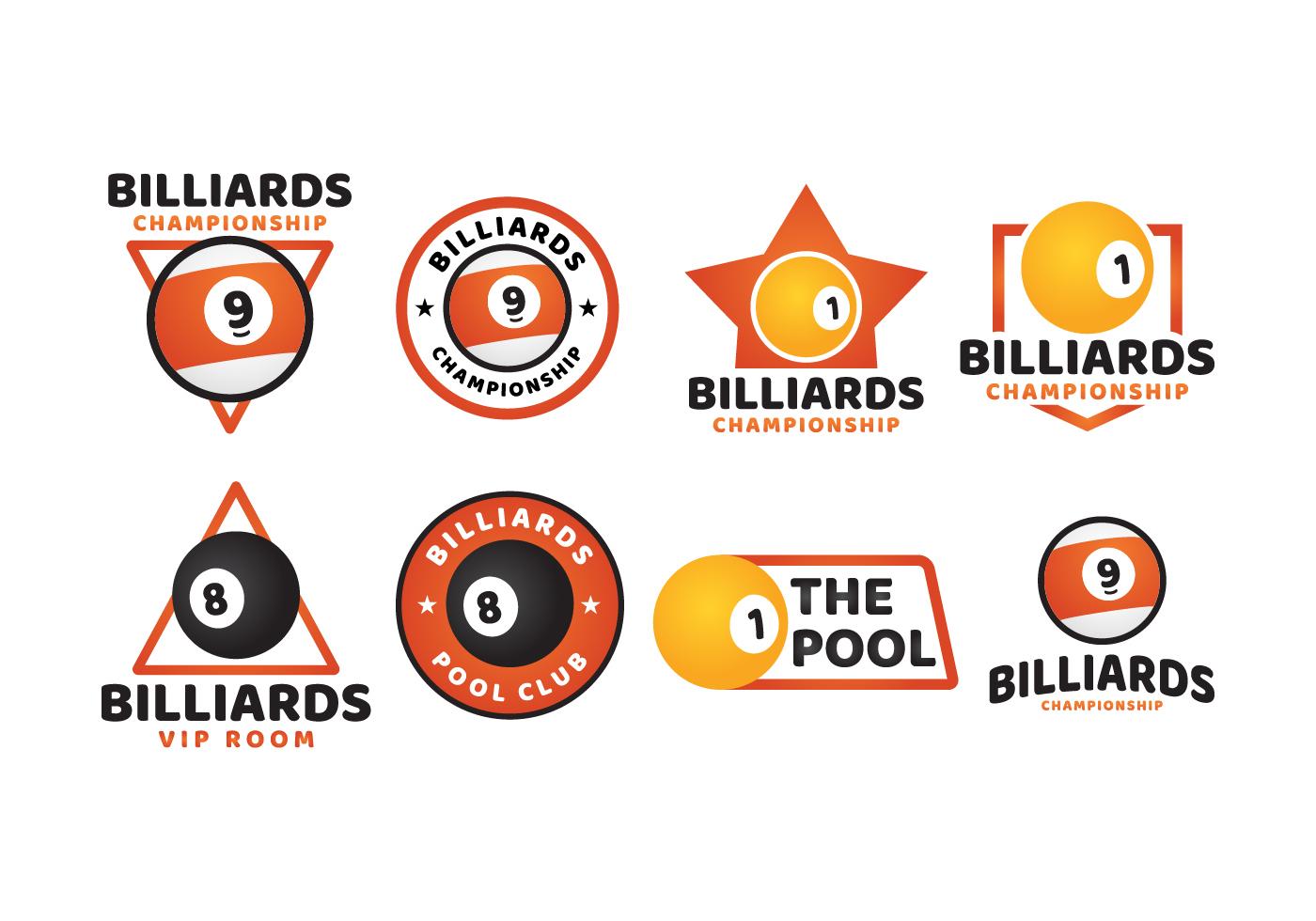 Billard Logo Sport - Telecharger Vectoriel Gratuit, Clipart à Jeux Gratuit Billard