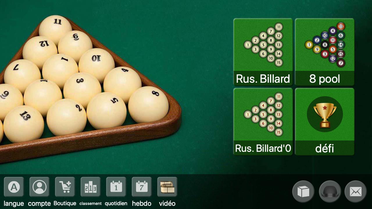 Billard Russe - Offline Online Billard Jeu Gratuit Pour destiné Jeux Gratuit Billard