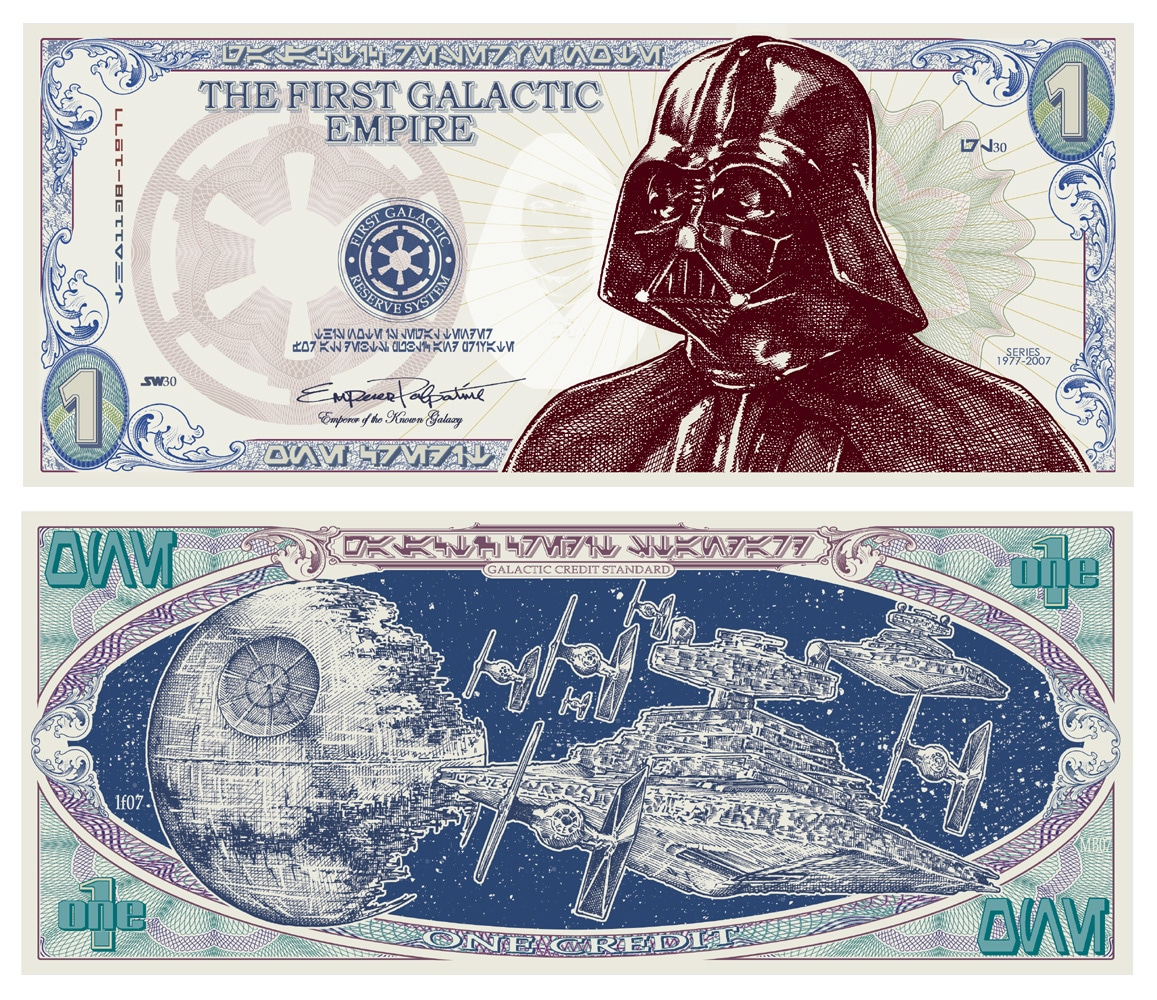 Billet De Banque Star Wars – Guide Du Parent Galactique dedans Billet À Imprimer Pour Jouer