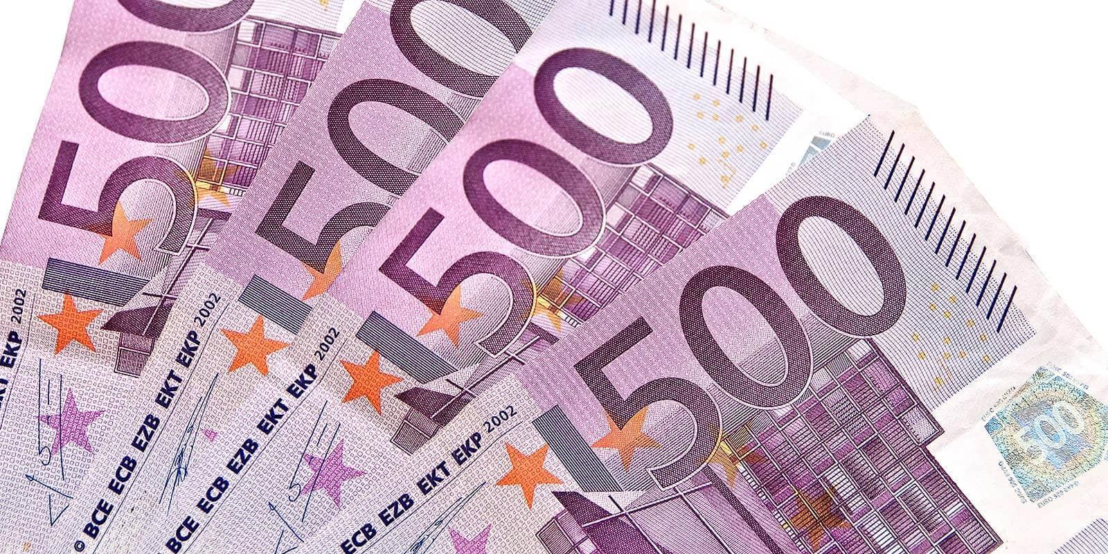 Billets De Banque : Les 500 € C'est Fini - Crédit Mutuel à Billet De 5 Euros À Imprimer