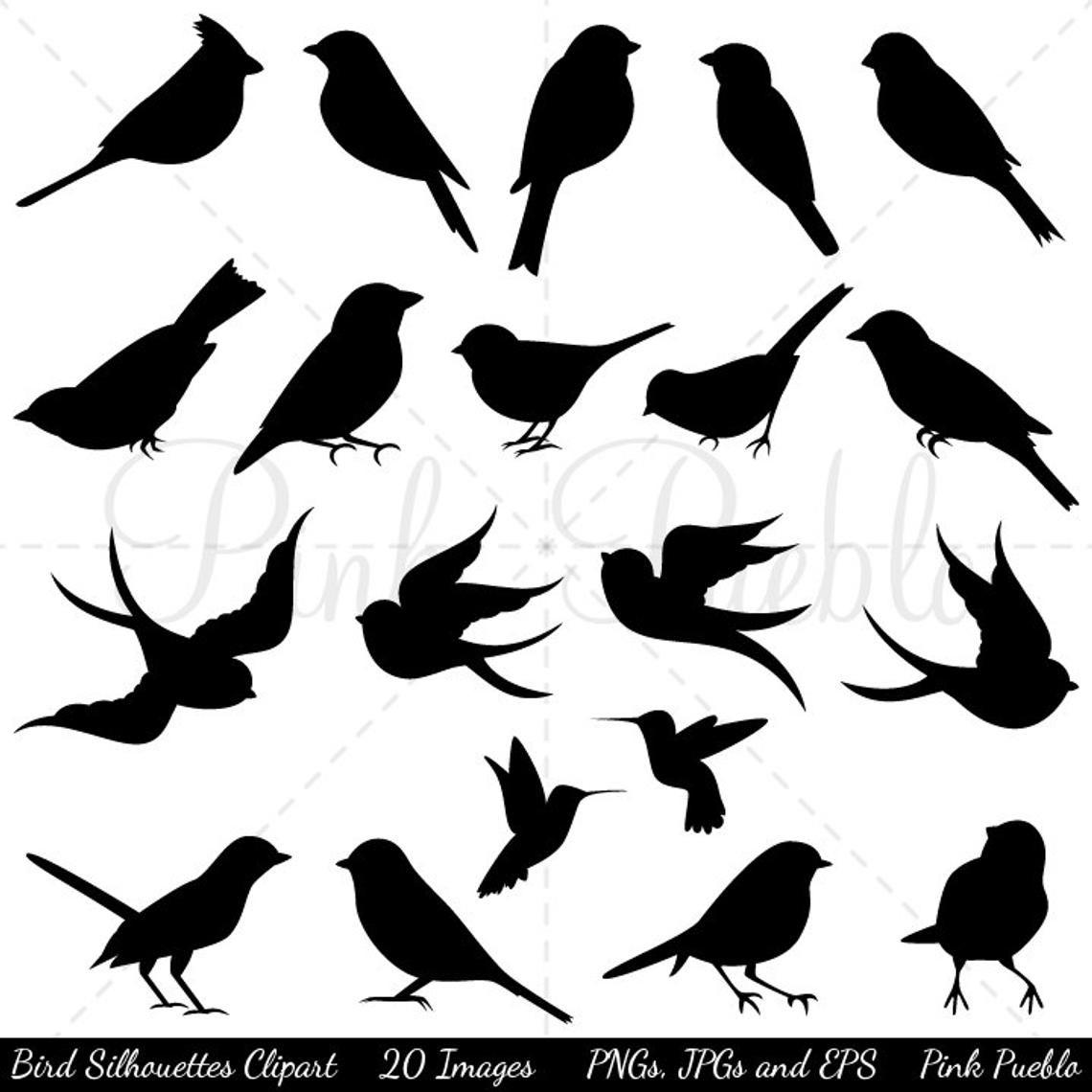 Bird Silhouettes Clip Art Clipart Clipart, Bird Clip Art encequiconcerne Dessin D Oiseau Simple