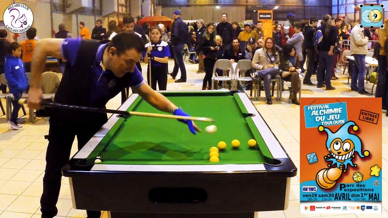 Blackball Trick Shots Show And Lesson - Billard Club Castanet Tolosan -  Alchimie Du Jeu pour Jeux Gratuit Billard