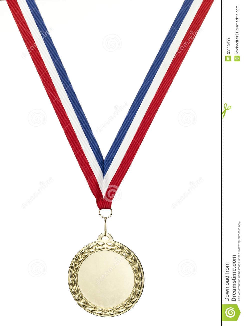 Blanc De Médaille De Jeux Olympiques D'or Avec Le Chemin De destiné Jeux De Découpage