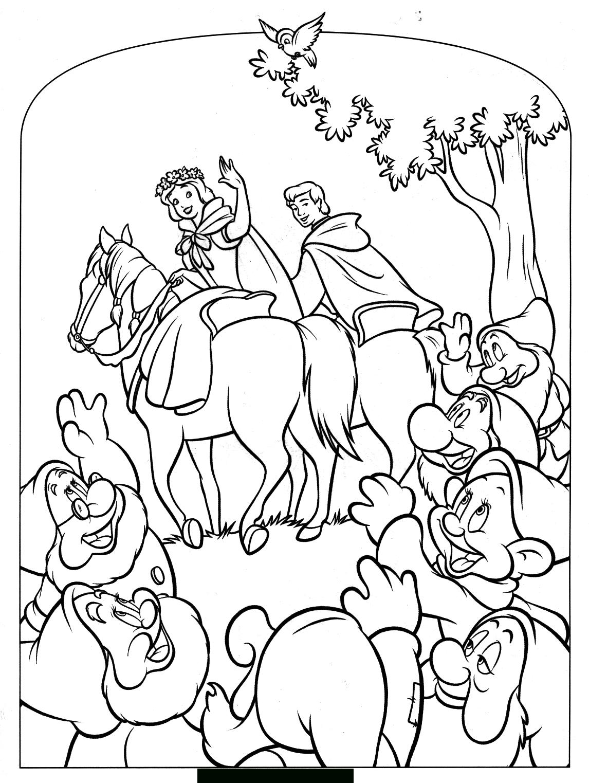 Blanche Neige Et Les Sept Nains #108 (Films D'animation tout Coloriage De Blanche Neige À Imprimer