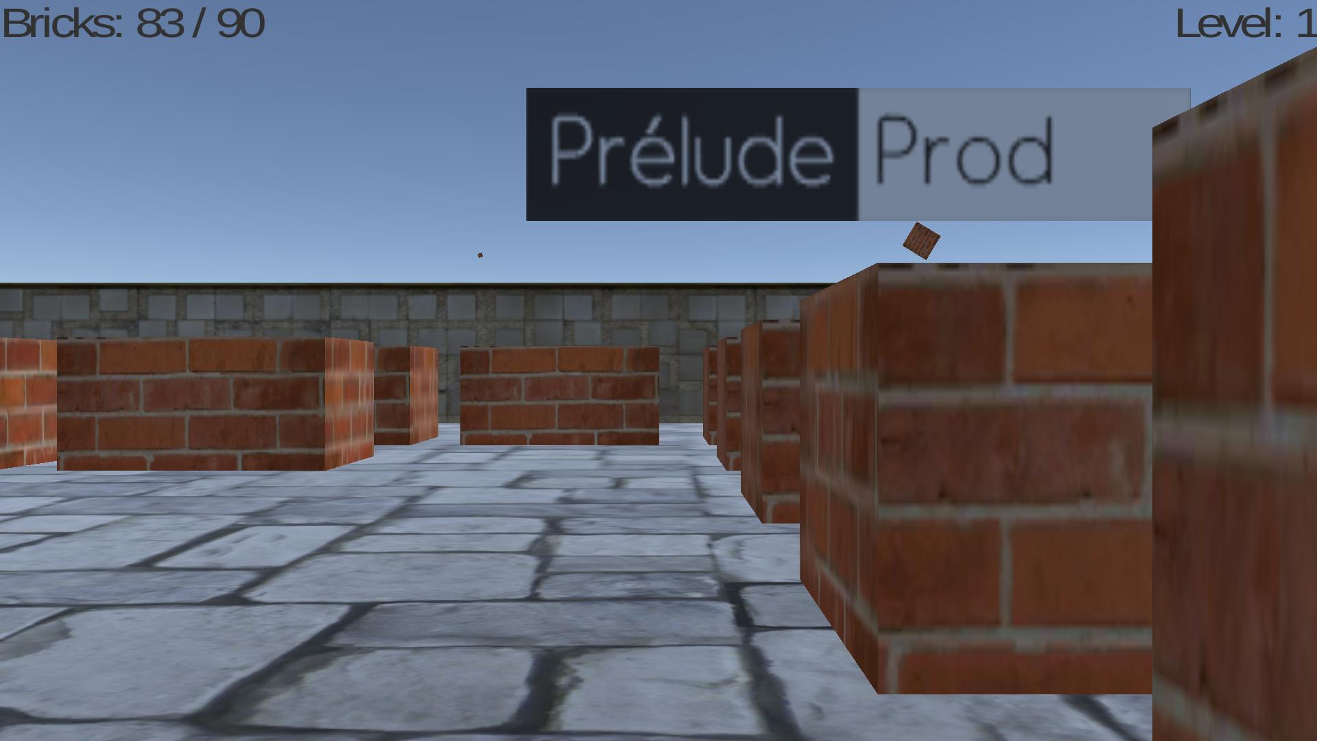 Blourp 3D : Un Casse-Briques Original (Encore) | Prélude encequiconcerne Le Casse Brique